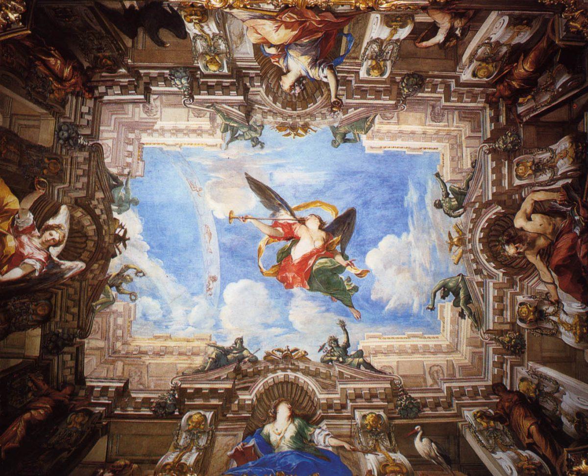 Valerio Castello, Allegoria della fama