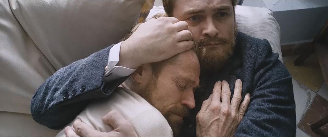 Un fotogramma del film Van Gogh. Sulla soglia dell'eternità