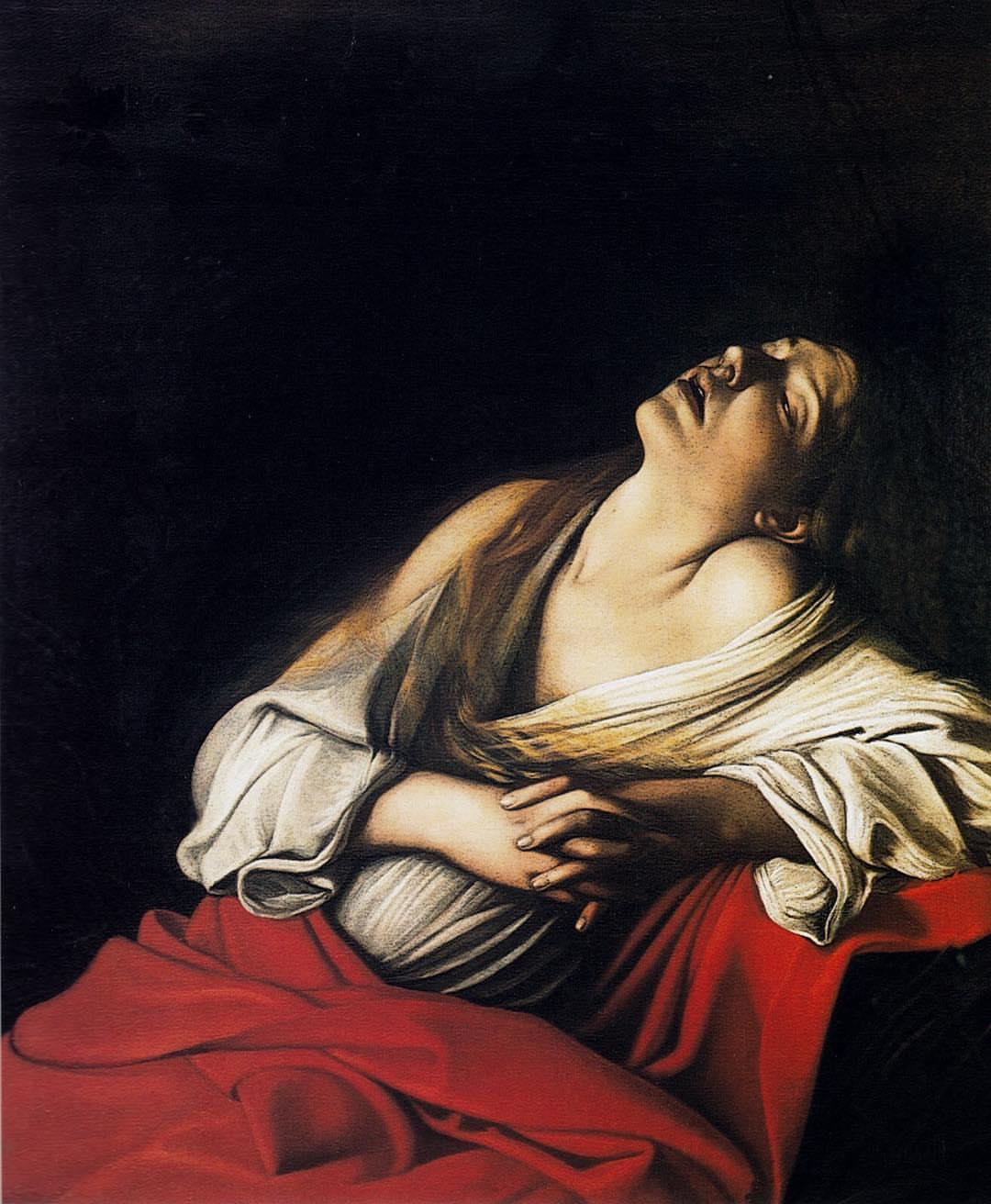 Caravaggio, Maddalena in estasi nota come