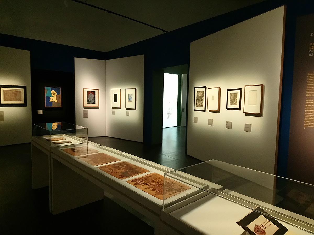 Sala della mostra Paul Klee. Alle origini dell'arte