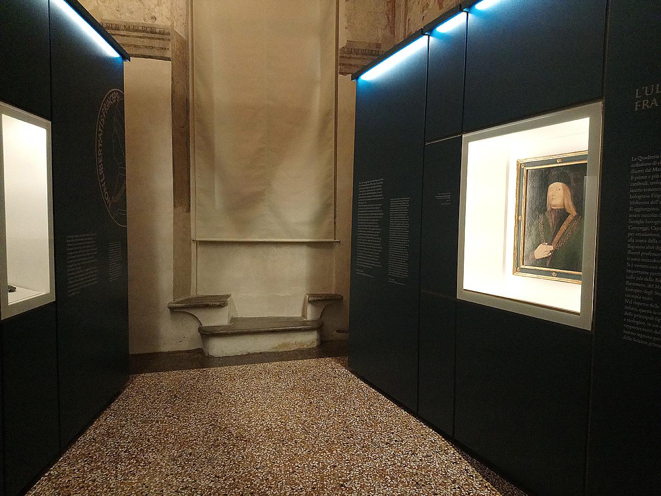 Il ritratto di Giovanni II Bentivoglio nel suo nuovo allestimento al Museo di Palazzo Poggi