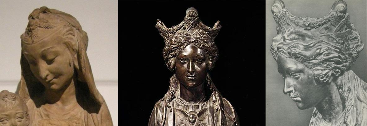 Confronto tra la Madonna del Victoria and Albert Museum e la Madonna dell'Altare del Santo di Donatello a Padova