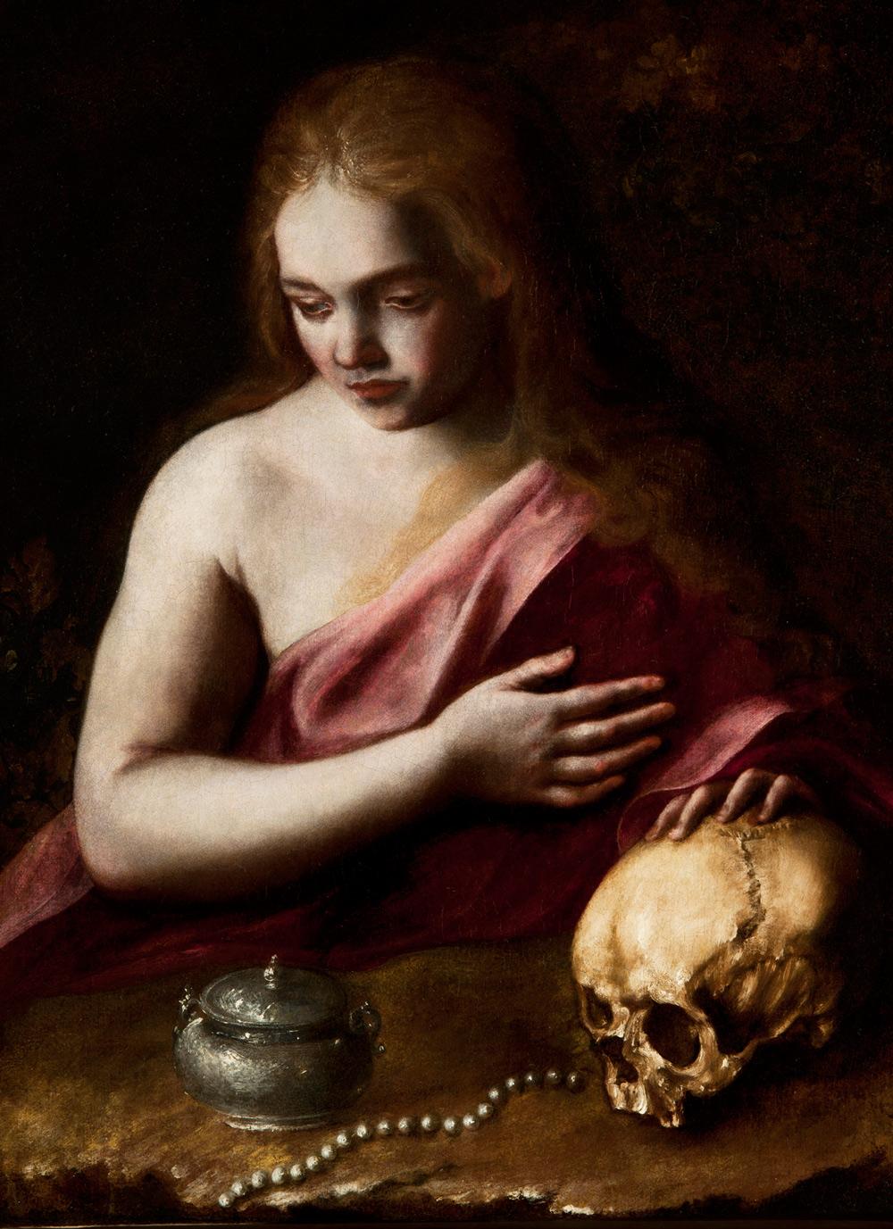 Bartolomeo Guidobono, Maddalena (1670-1675 circa; olio su tela, 80 x 58 cm; Collezione privata)