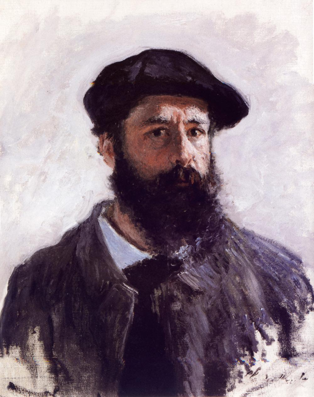 Claude Monet, Autoritratto (1886; olio su tela, 55 x 46 cm; Collezione privata)