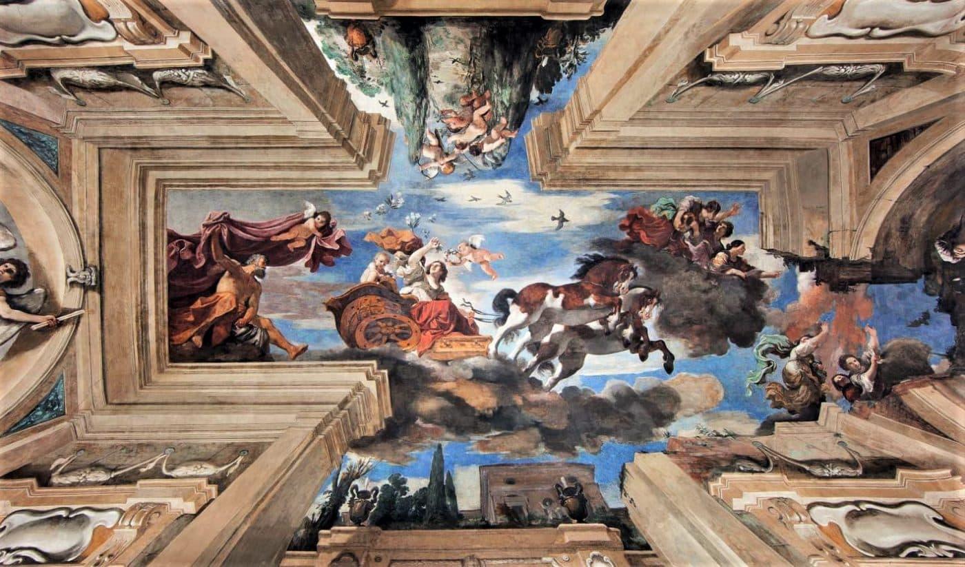 Guercino, Aurora (1621; affresco; Roma, Casino Ludovisi)