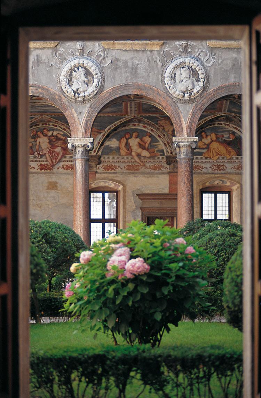 La Loggia del Romanino, dettaglio. Ph. Credit G. Carfagna