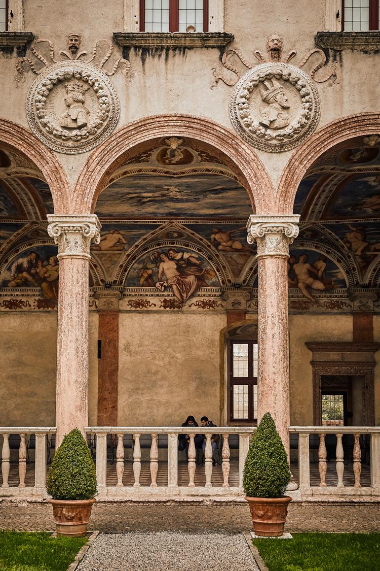 La Loggia del Romanino, dettaglio. Ph. Credit R. Bragotto