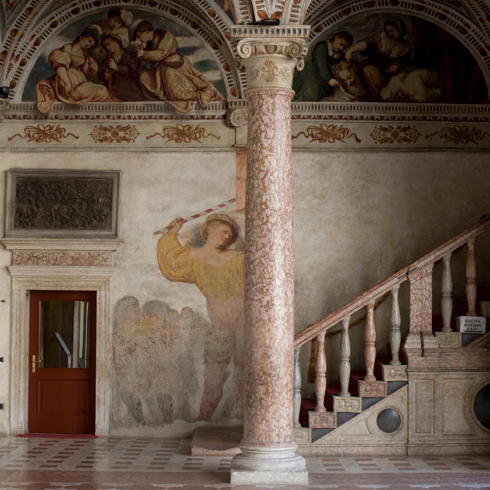 La Loggia del Romanino, dettaglio. Ph. Credit P. Marlow