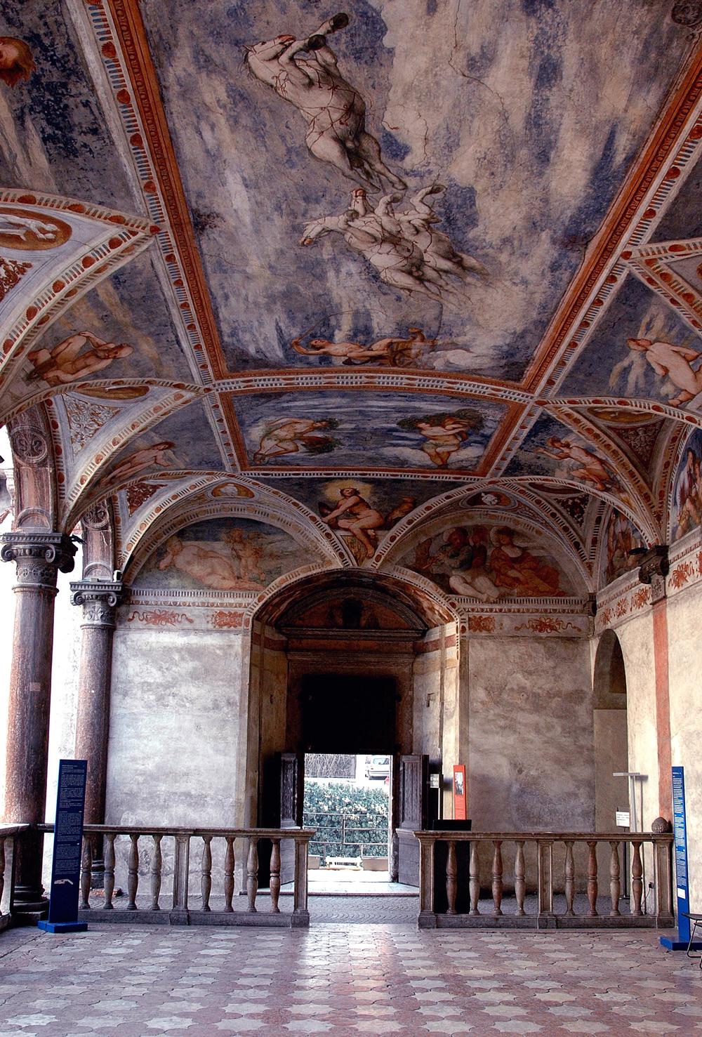 Romanino, Affreschi della Loggia Grande del Magno Palazzo (1531-1532; affreschi; Trento, Castello del Buonconsiglio). Ph. Credit D. Lira