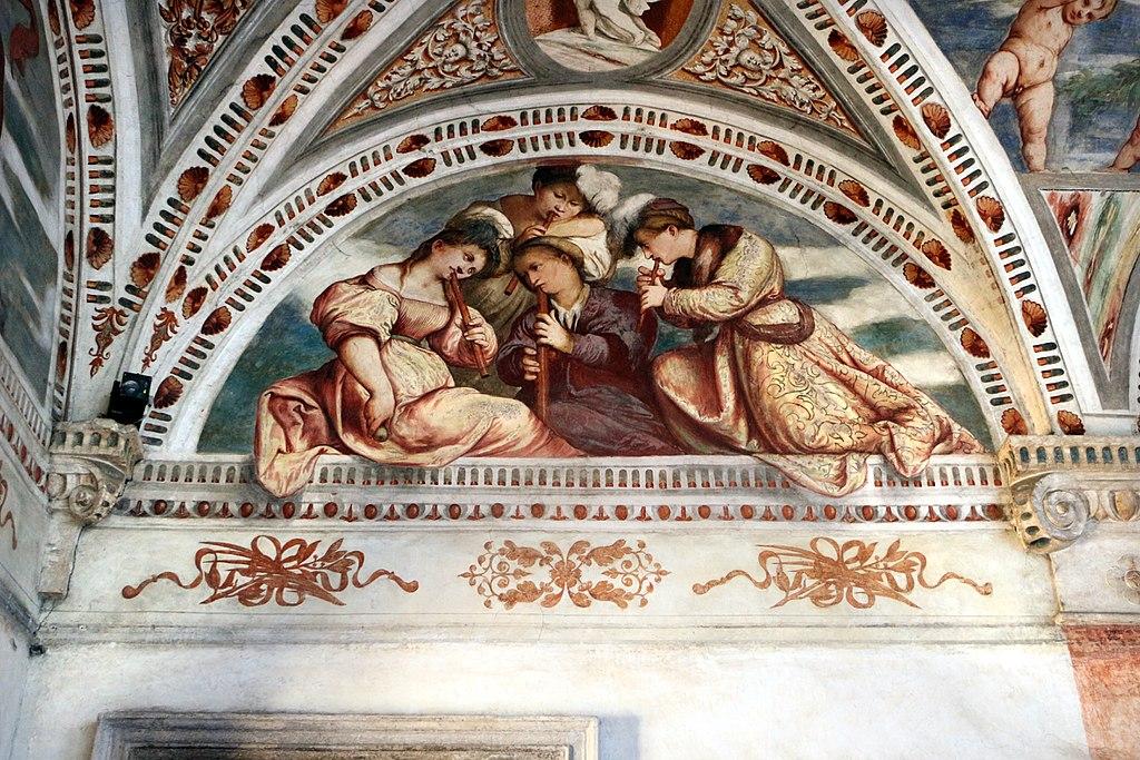 Loggia del Romanino, dettaglio: Concerto. Ph. Credit Francesco Bini