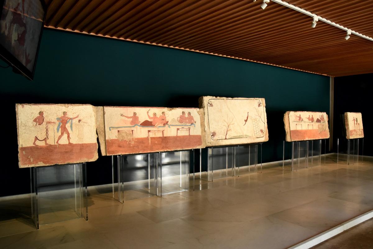 Museo Archeologico di Paestum, la sala Mario Napoli