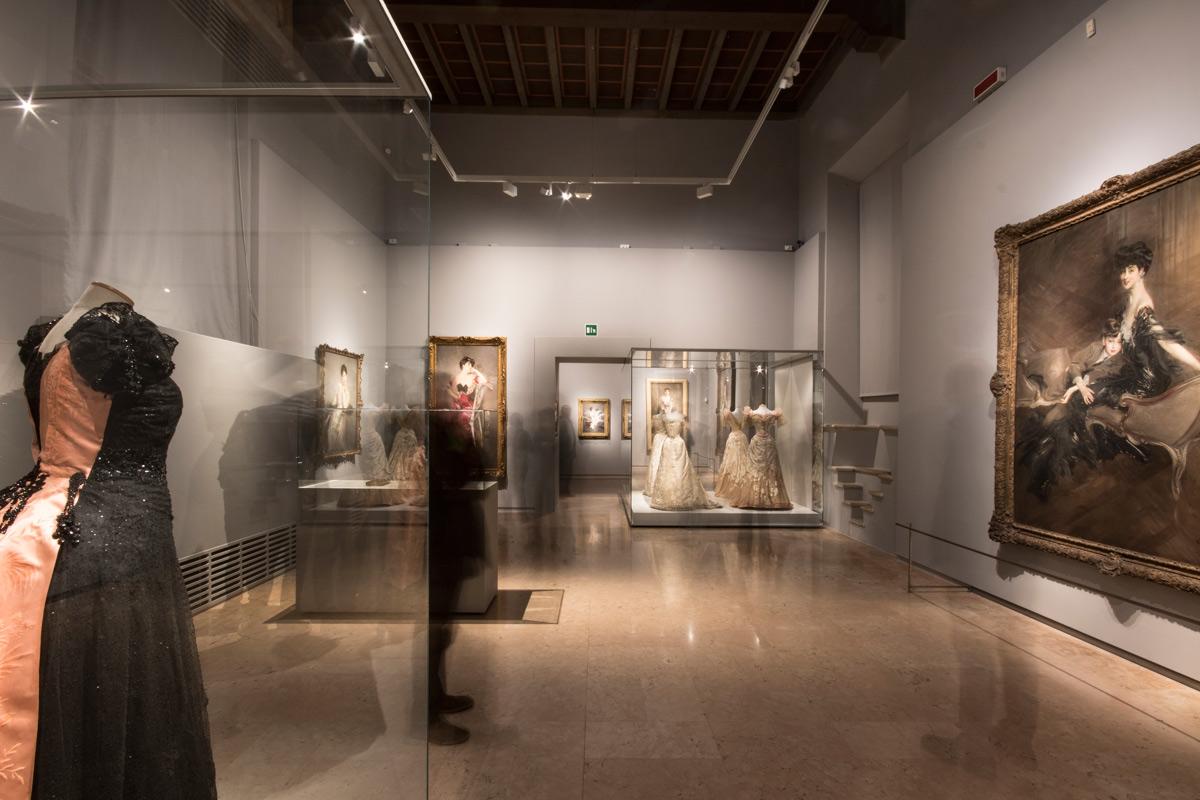 Immagine della mostra Boldini e la moda. Ph. Credit Fondazione Ferrara Arte