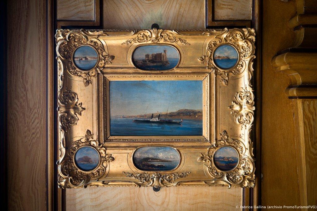 Carlotta del Belgio, Yacht Phantasie (ante 1860; Trieste, Museo Storico del castello di Miramare)