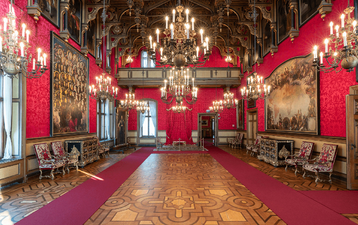 La sala del trono. Ph. Credit Fabrice Gallina