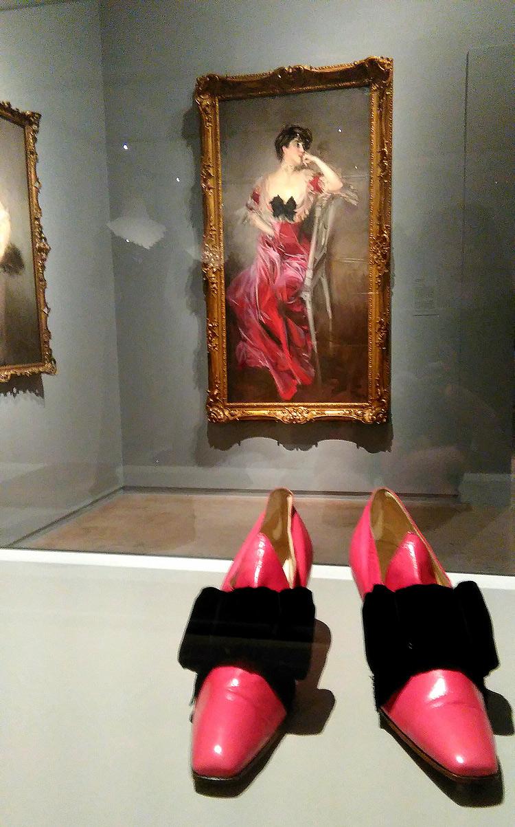 Sala della mostra Boldini e la moda
