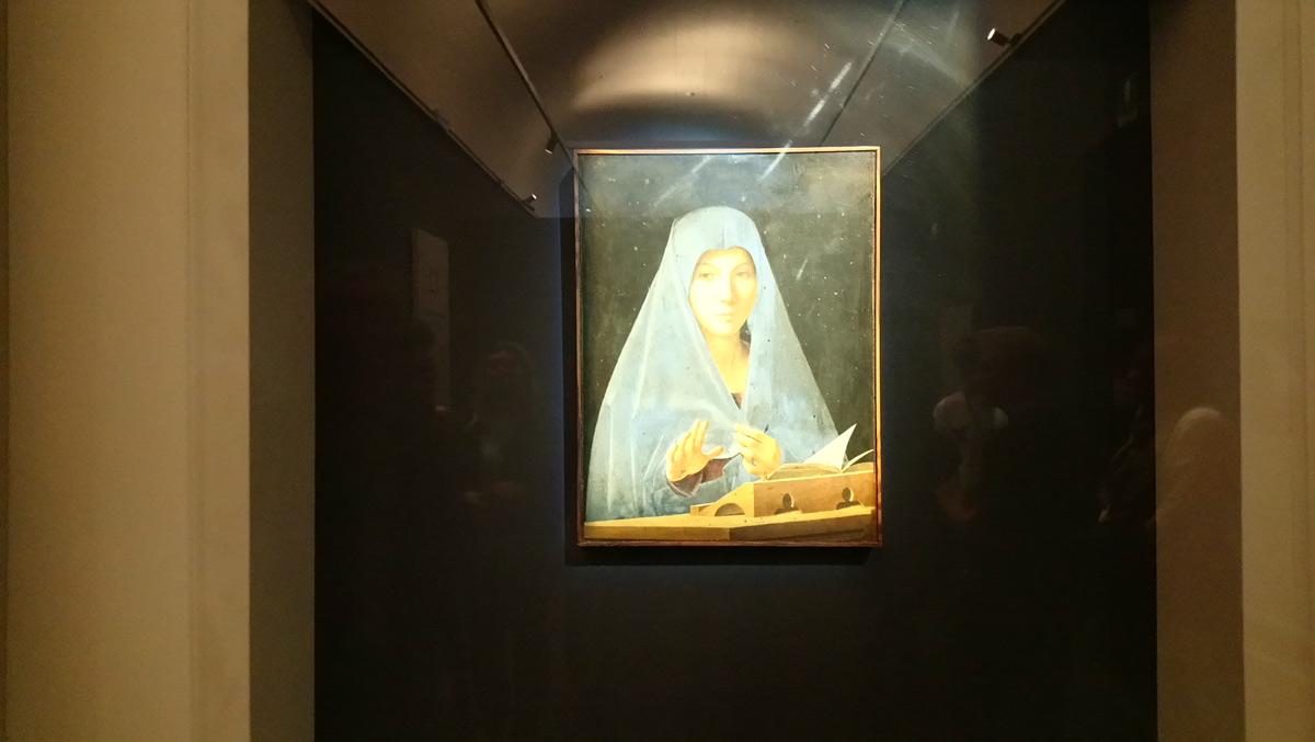 L'Annunciata alla mostra di Palazzo Reale