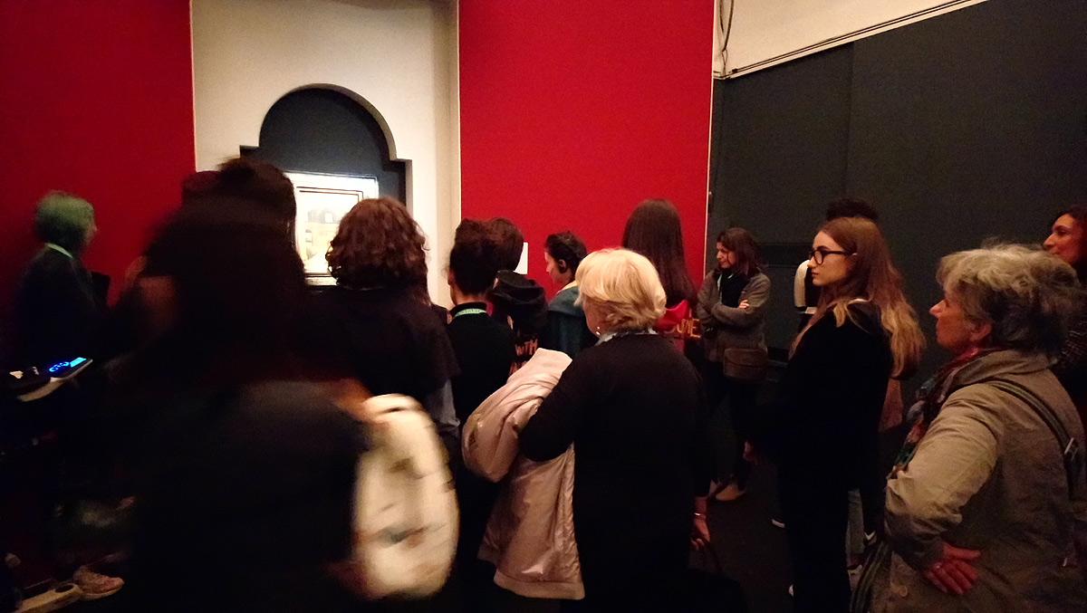 Pubblico alla mostra Antonello da Messina a Milano, Palazzo Reale