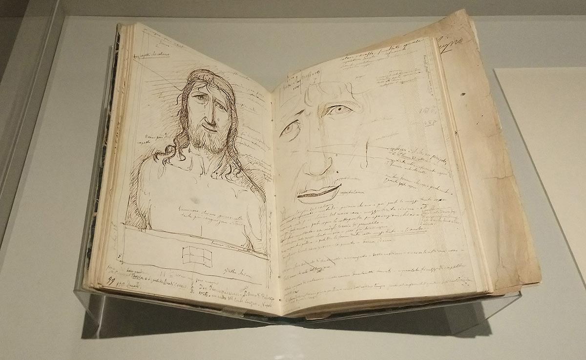Giovanni Battista Cavalcaselle, Foglio dedicato all'Ecce Homo