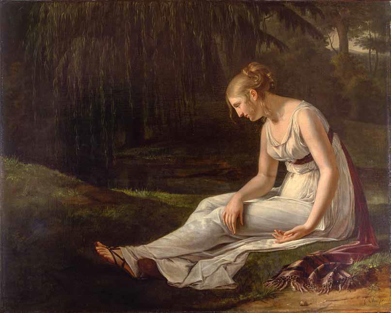 Constance-Marie Charpentier, La malinconia (1801; olio su tela, 130 x 165 cm; Amiens, Musée de Picardie)