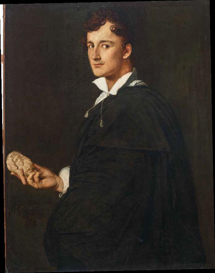 Jean-Auguste-Dominique Ingres, Ritratto di Lorenzo Bartolini (1805; olio su tela, 98 x 80 cm; Montauban, Musée Ingres)
