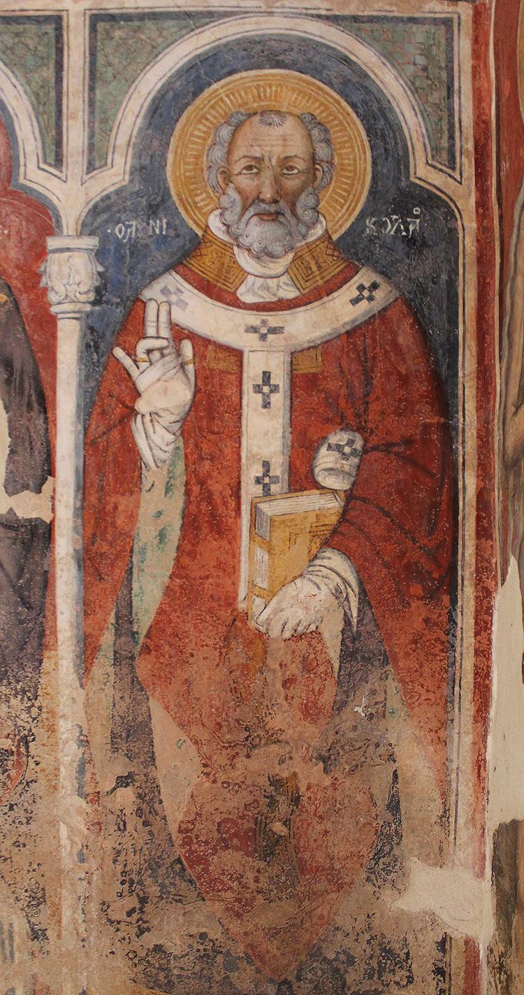 San Nicola (1420-1430; Soleto, chiesa di Santo Stefano)