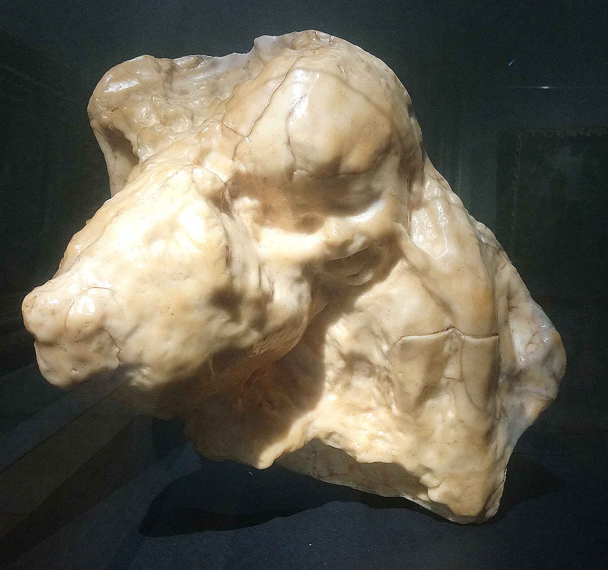 Medardo Rosso, Aetas aurea (Age d'or; Età dell'oro; Maternità) (cera su gesso; Milano, Galleria d'Arte Moderna)