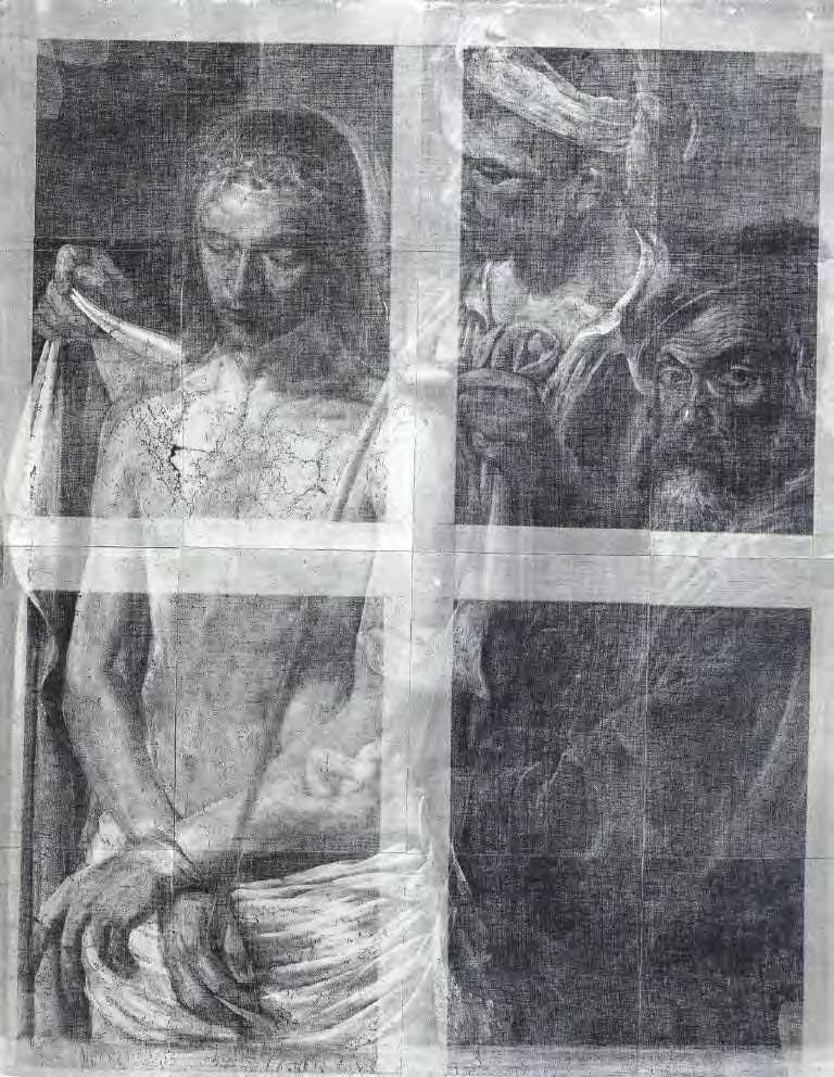 Radiografia totale dell'Ecce Homo di Caravaggio (studio di Mina Gregori, 1992)