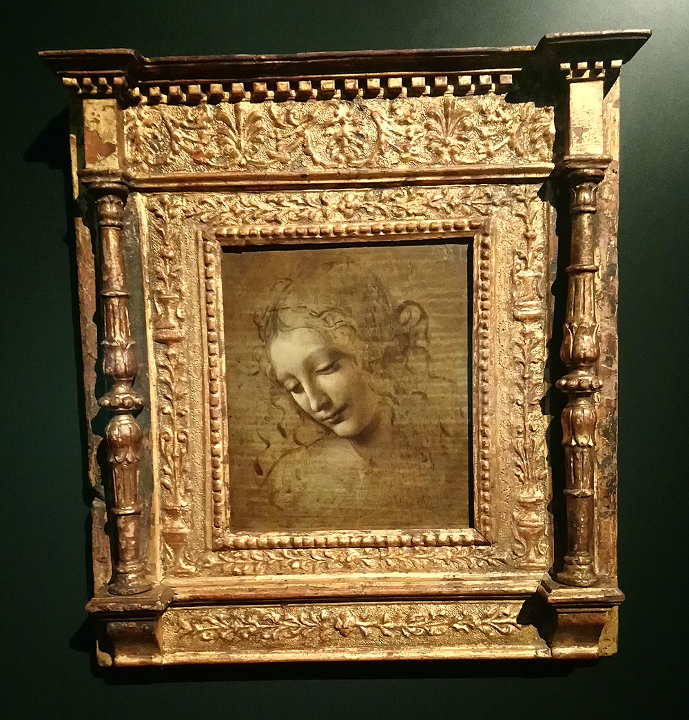 Leonardo da Vinci, La Scapiliata