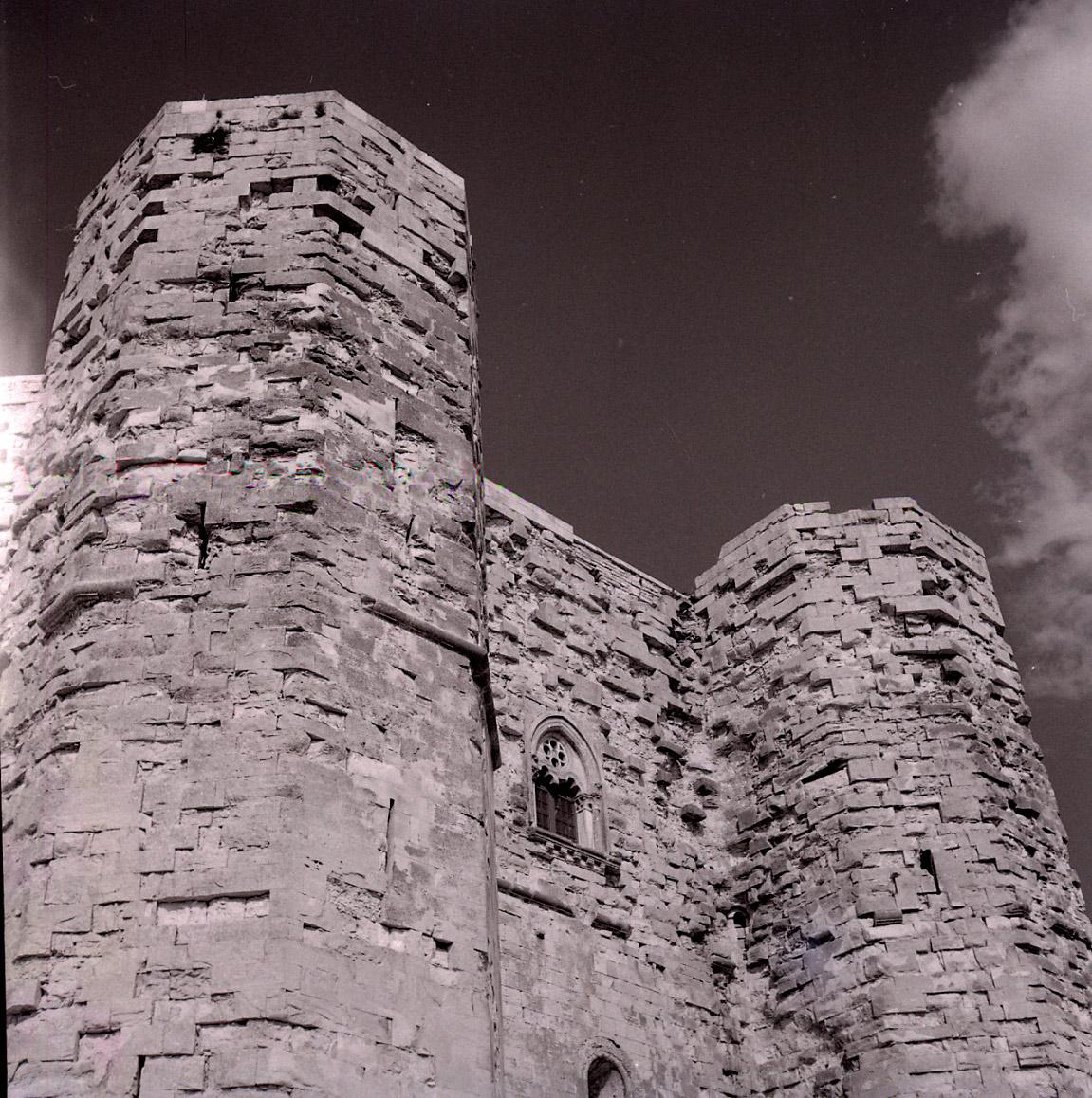 Castel del Monte nel 1959. Foto di Paolo Monti