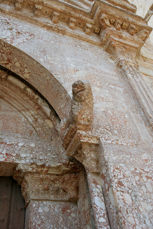 Leone del portale. Ph. Credit Francesco Bini
