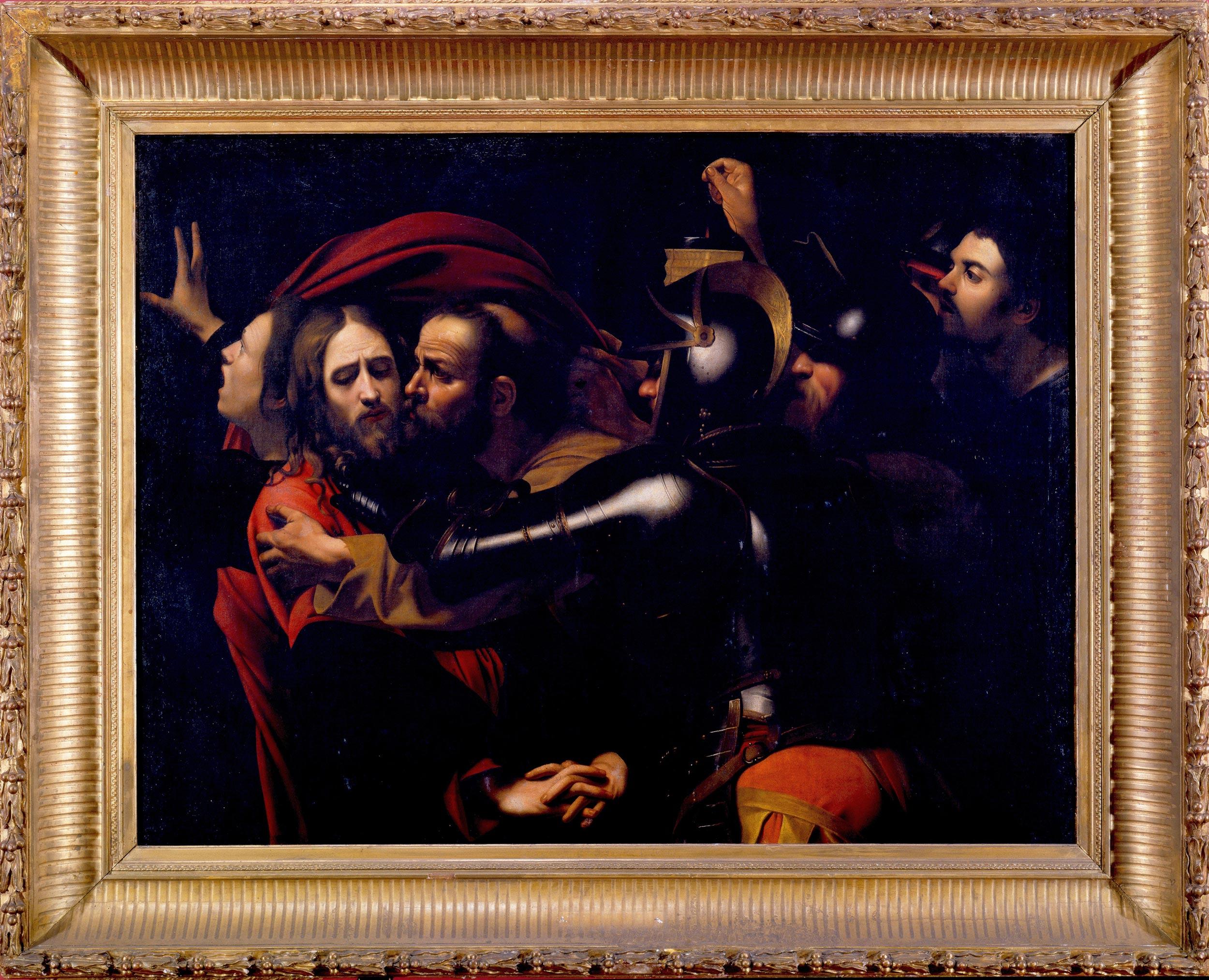 Da Caravaggio, Cattura di Cristo (inizio XVII secolo; olio su tela, 134 x 172,5 cm; Odessa, Museo d'Arte Occidentale e Orientale)