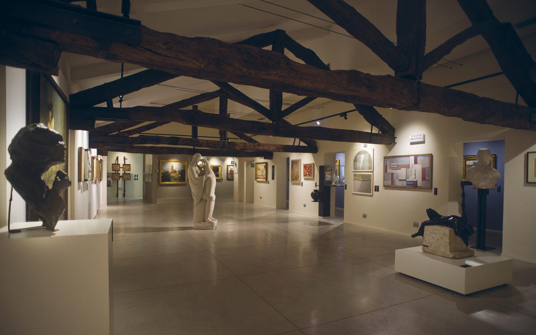 Sala della pinacoteca dei Musei Civici di Monza