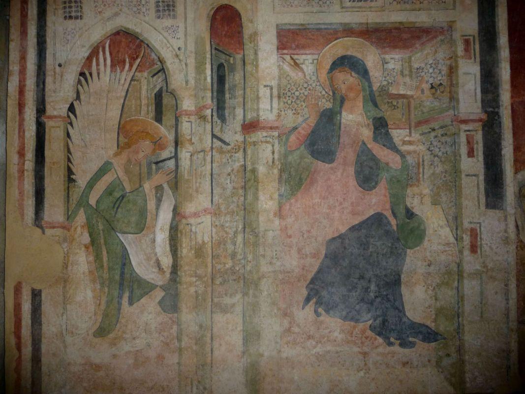 L'Annunciazione conservata nel museo