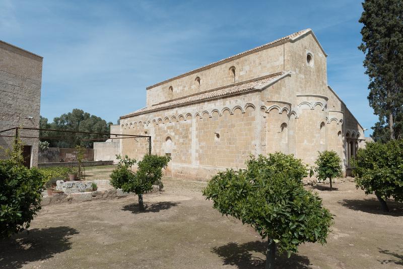 L'abside della chiesa
