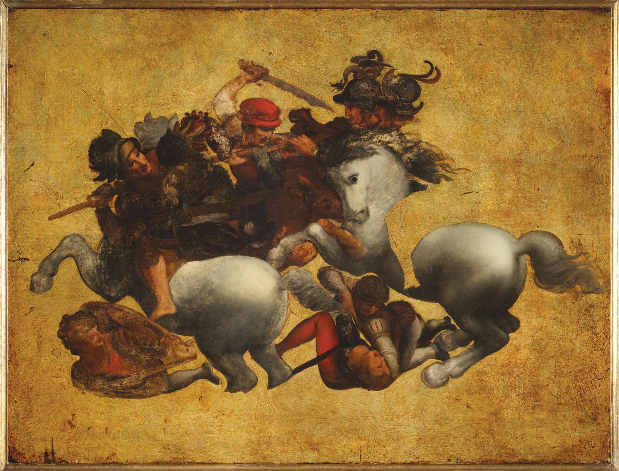 Francesco Morandini detto il Poppi (?), Tavola Doria (1563?; olio su tavola, 86 x 115 cm; Firenze, Gallerie degli Uffizi)