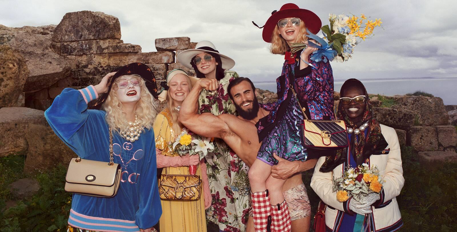 La campagna di Gucci a Selinunte