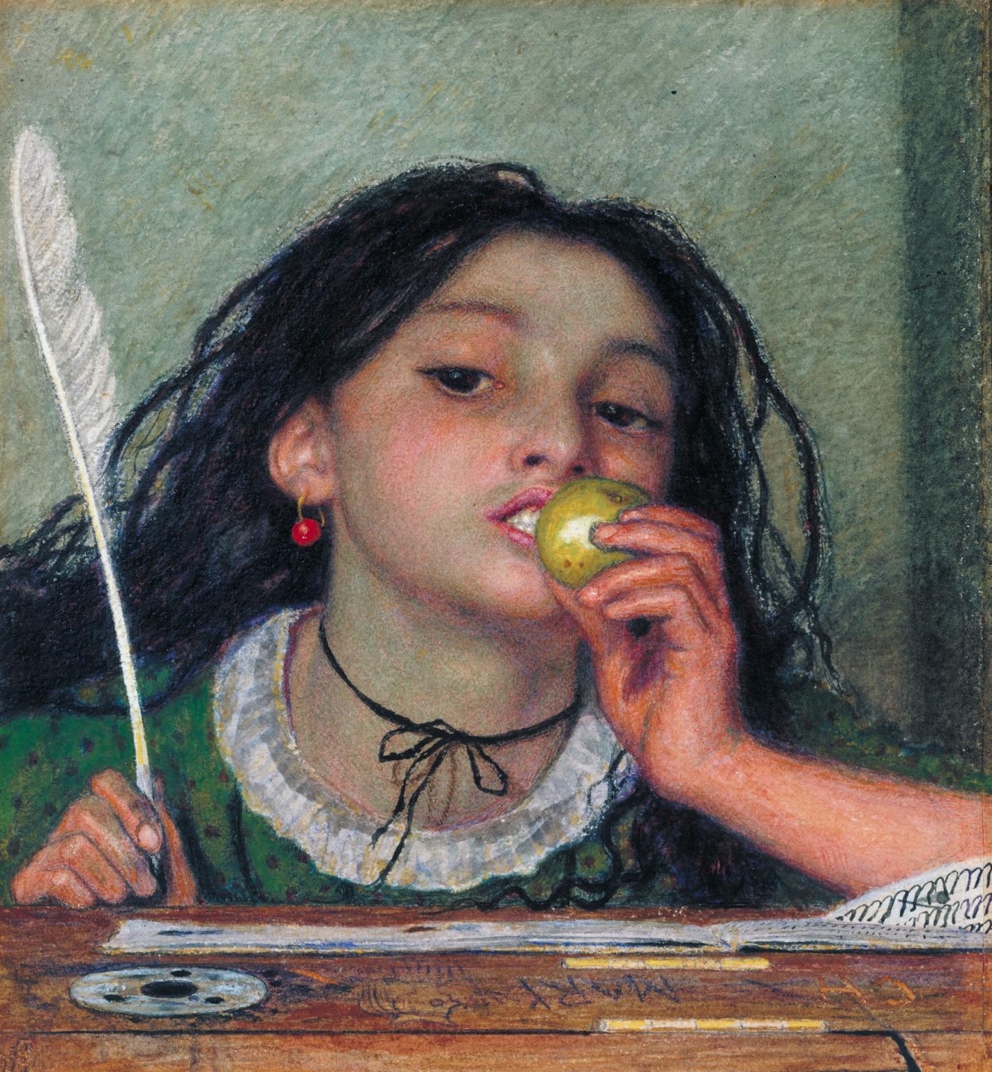 Ford Madox Brown, Cattivo soggetto (1863; acquerello su carta, 23,2 x 21 cm; Londra, Tate Britain)