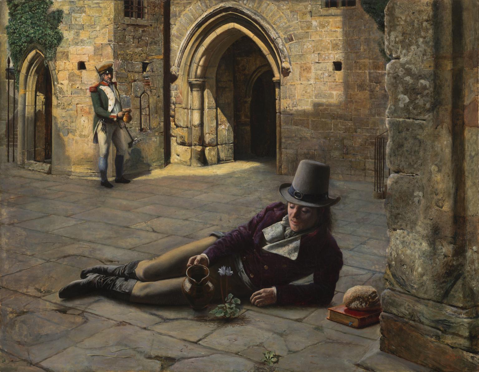 Robert Braithwaite Martineau, Picciola (1853; olio su tela, 63,5 x 81,3 cm; Londra, Tate Britain)