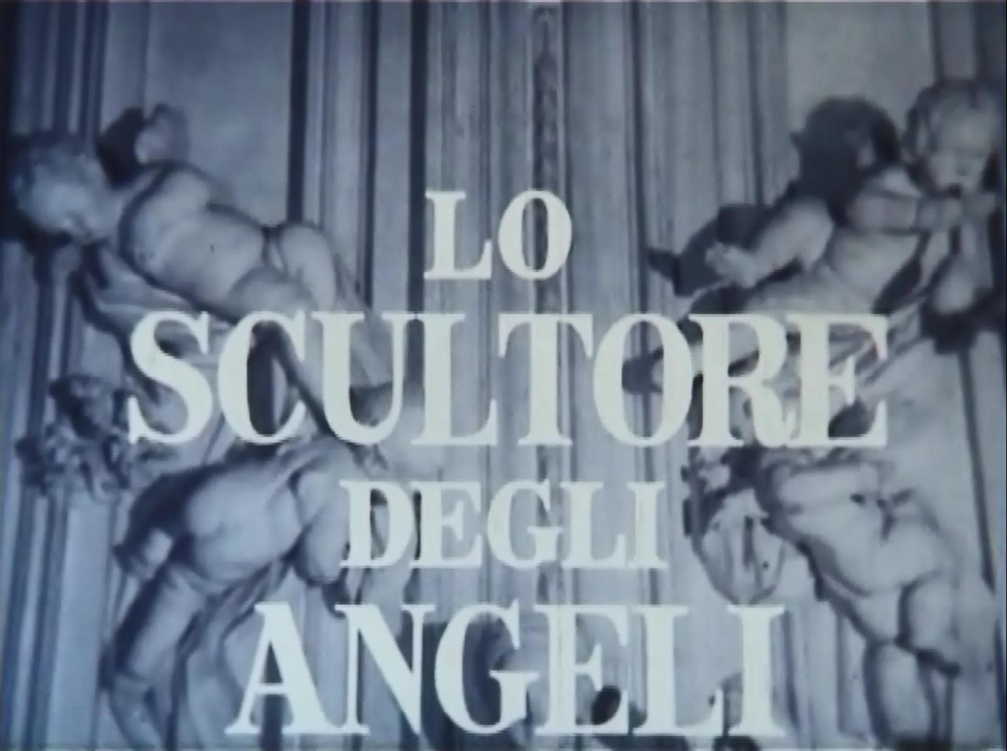 Fotogramma de Lo scultore degli angeli di Aldo Franchi, 1957.