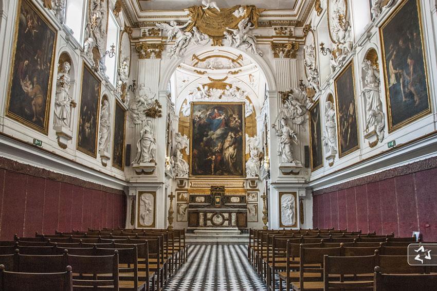 Oratorio del Rosario in San Domenico, Palermo.