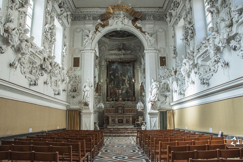 Oratorio del Rosario in Santa Cita, Palermo.