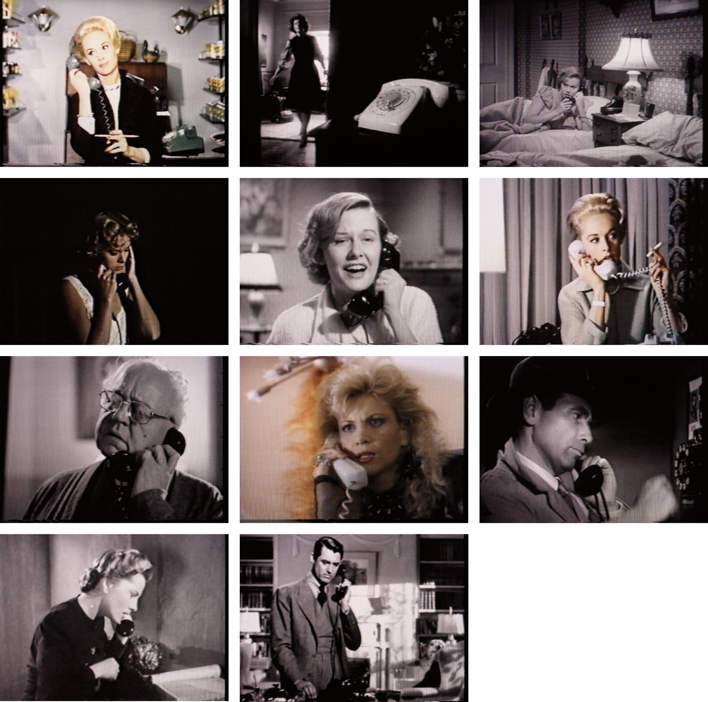 Christian Marclay, Telephones (1995; video installazione, durata 7:30 minuti)