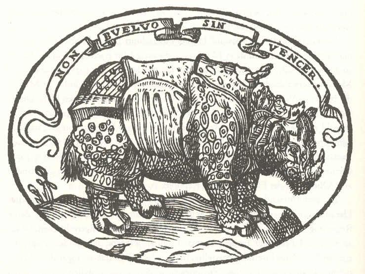 Il motto di Alessandro de' Medici dal Dialogo dell'imprese militari et amorose di Paolo Giovio (Venezia, 1557)