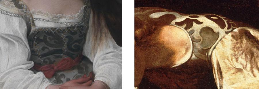 I ricami della Maddalena e del Narciso