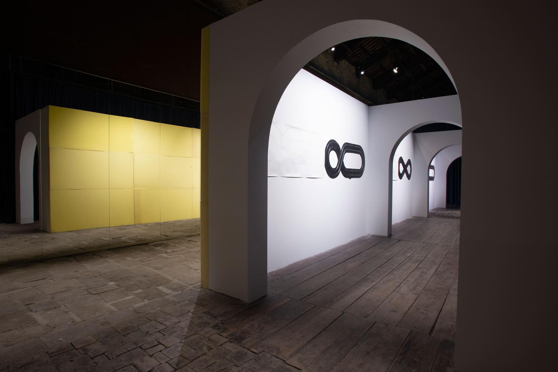 Immagine dalla mostra Né altra né questa. La sfida al labirinto. Ph. Credit Italo Rondinella