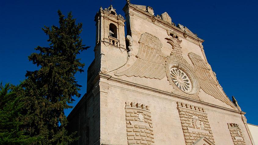 Dettaglio della facciata. Ph. Credit IAT Gravina in Puglia