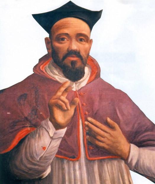 Pasquale Ceci, Ritratto postumo di Vincenzo Giustiniani (XIX secolo; olio su tela; Gravina, Santa Maria della Grazia)