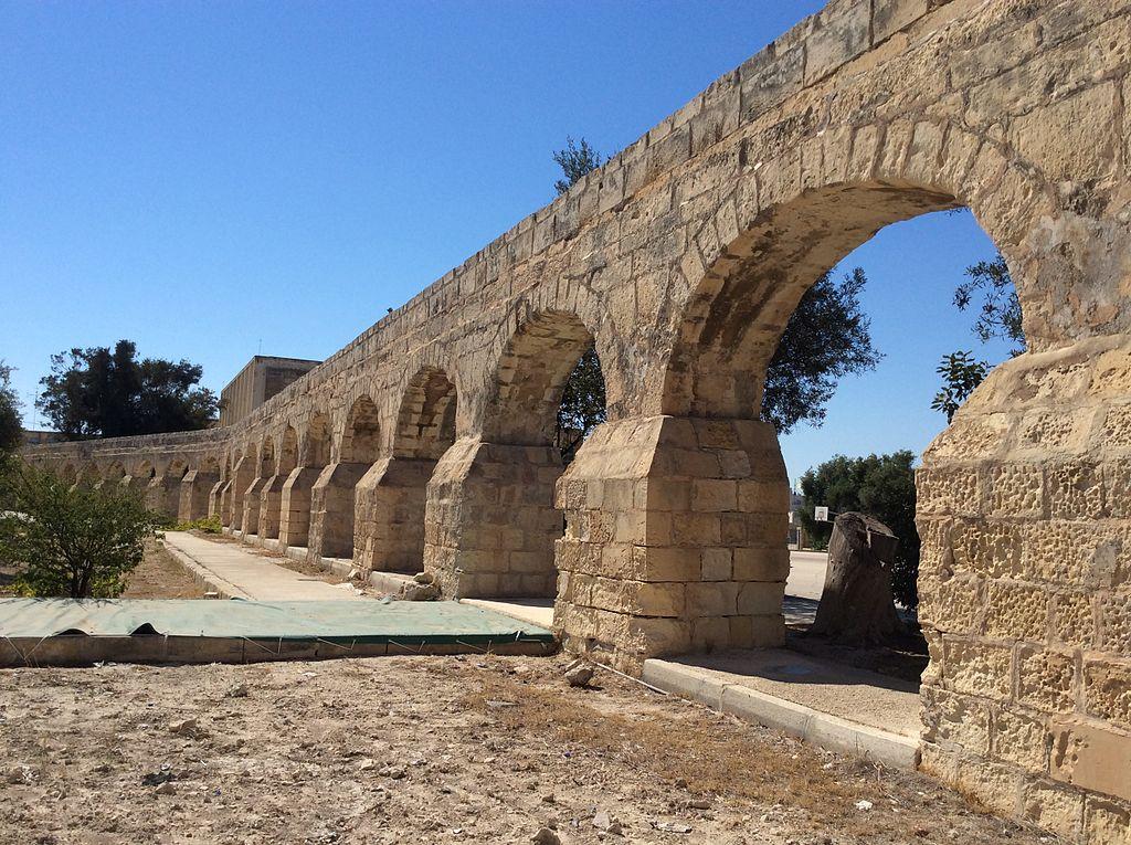 L'acquedotto di Alof de Wignacourt a Birkirkara (Malta)