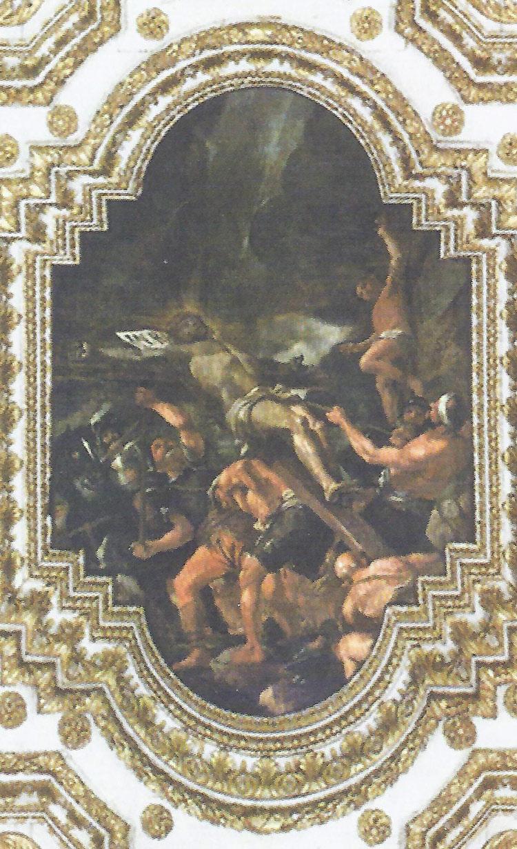 Mattia Preti, Discesa dalla croce (1679-1689; olio su tela, 306 x 443 cm; La Valletta, Oratorio di San Giovanni Decollato)