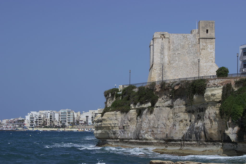 La torre Wignacourt a St. Paul's Bay